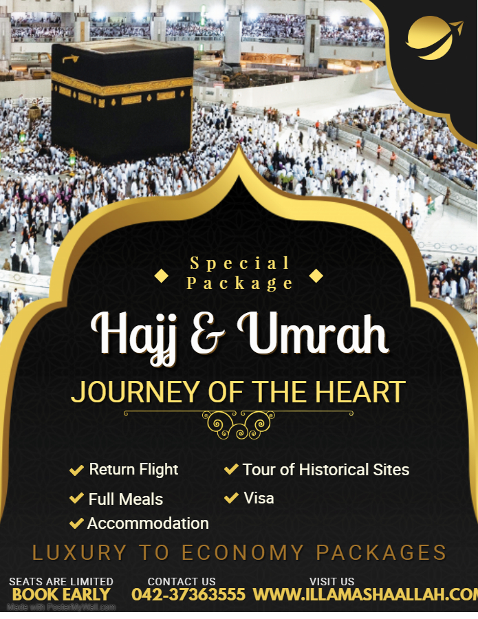 Umrah Packages 15, 21 & 28 Days